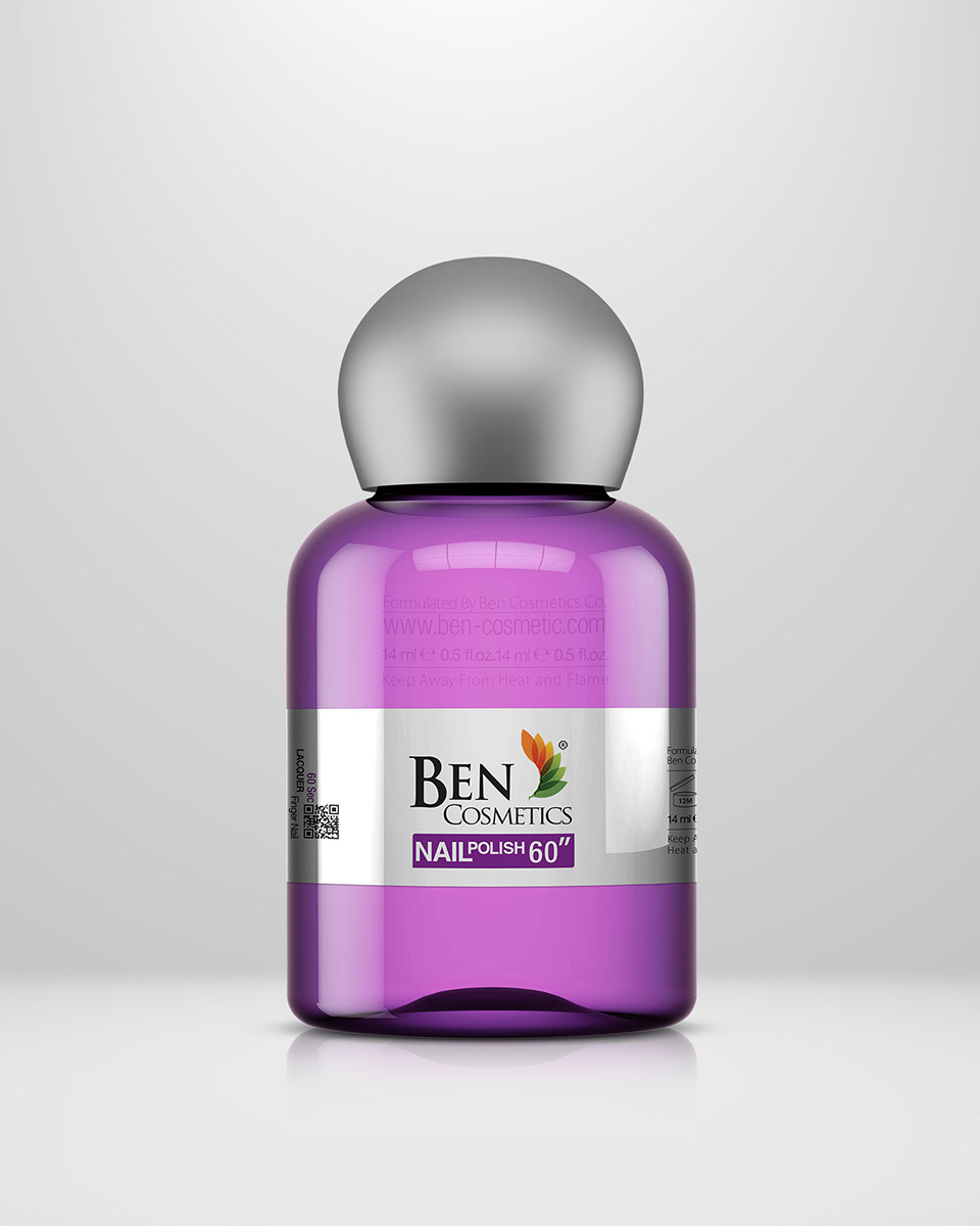 Ben Cosmetics Product Package
